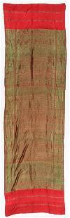 Antique Southeast Asian Silk Textile Probably Lao