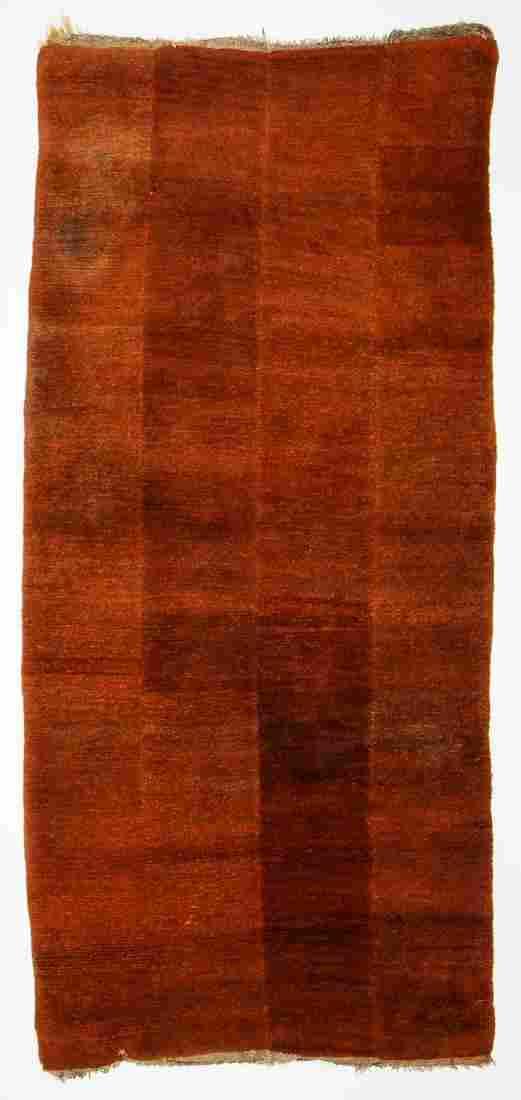 Tibetan 'Tsukdruk' 4 Panel Rug, Tibet, 19th/20th C.