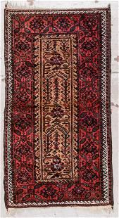 Antique Beluch Rug 211 x 56 89 x 168 cm
