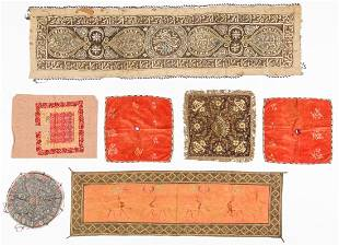 Collection of 7 Antique Ethnographic Textiles