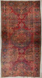17th Century Oushak Medallion Rug: 14'6'' x 26'3''