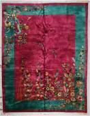 Chinese Art Deco Rug 89 x 113