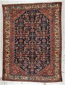 Antique Malayer Rug 47 x 6