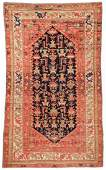 Antique Malayer Rug 4 x 67