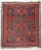 Antique Afshar Rug: 4'2'' x 4'8''
