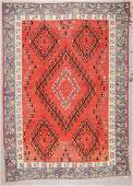 SemiAntique Bessarabian Kilim 8 x 113
