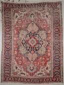 Antique Serapi Rug: 10'8'' x 14'3''