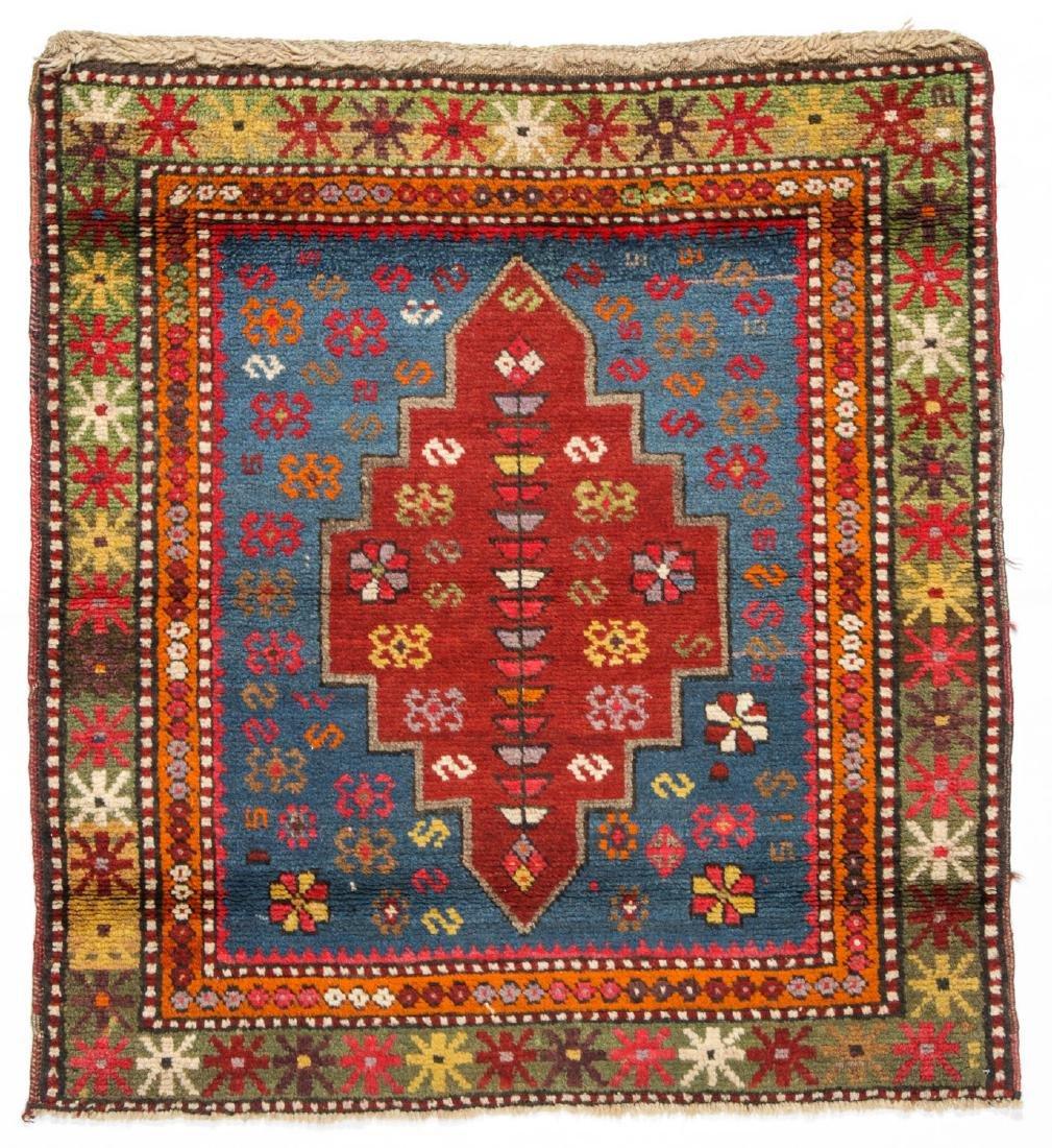 Antique Kazak Rug: 2'11'' x 3'2''