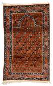 Semi-Antique Caucasian Rug: 3'2'' x 5'5''
