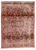 Semi-Antique Sarouk Rug: 3'4'' x 4'9''