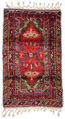 SemiAntique Turkish Village Rug 36 x 510