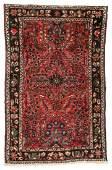 Semi-Antique Sarouk Rug: 2'7'' x 4'11''