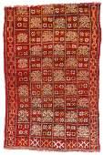 SemiAntique Moroccan Rug 37 x 55