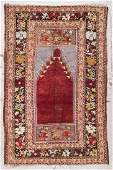 Semi-Antique Turkish Rug: 4' x 6'2''