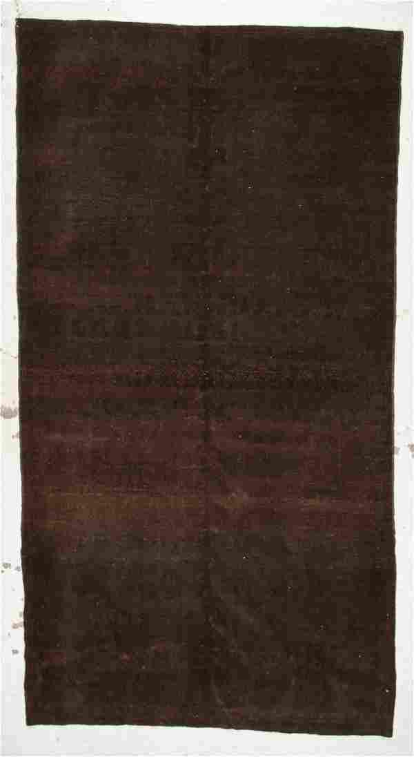 Vintage Turkish Rug: 6' x 11'3''