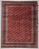 Vintage Pakistan Bokhara Rug 9 x 118