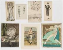 Group of Illustration Art (7 Works)