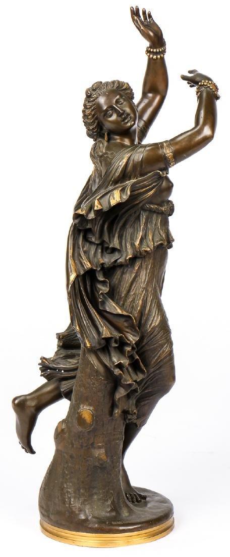 Ferdinand Barbedienne (1810-1892) Parcel-Gilt Bronze
