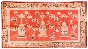 Antique Khotan Rug, China: 5'5'' x 9'8''
