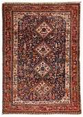Antique Gashgai Rug, Persia: 4'5'' x 6'4''