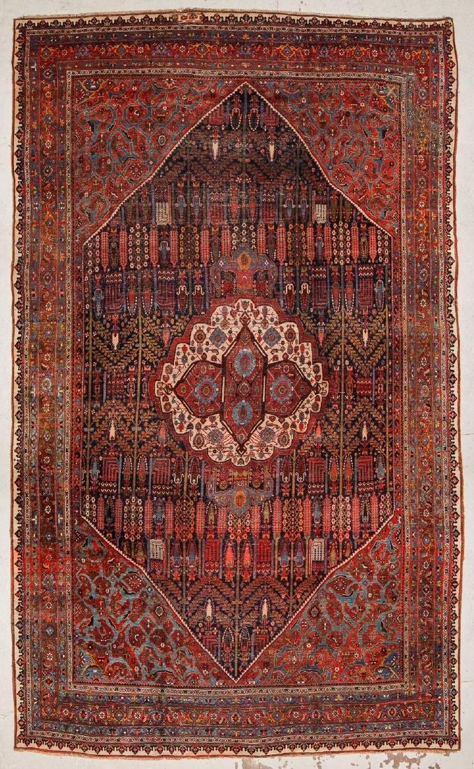Antique Palace-Size Bidjar Rug, Persia: 11' x 18'6''
