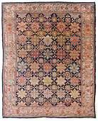 """Antique Bidjar Rug, Persia: 11' x 14'11"""""""