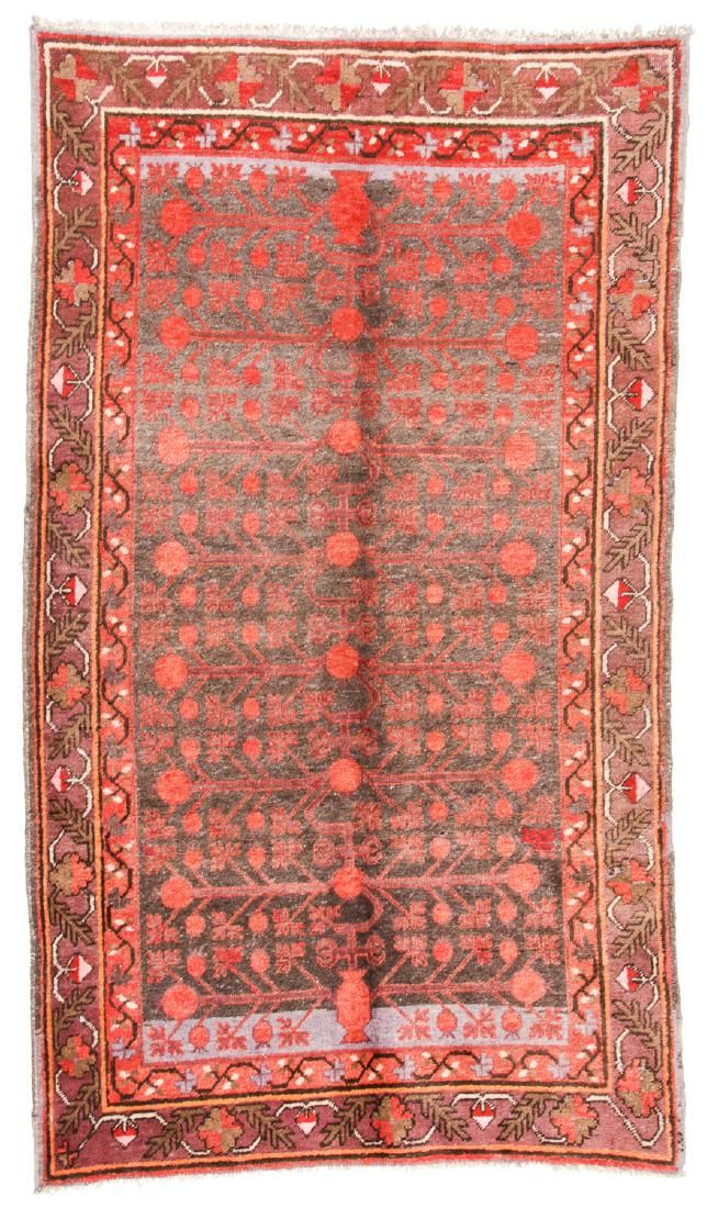 Antique Khotan Rug, China: 4'7'' x 8'1''