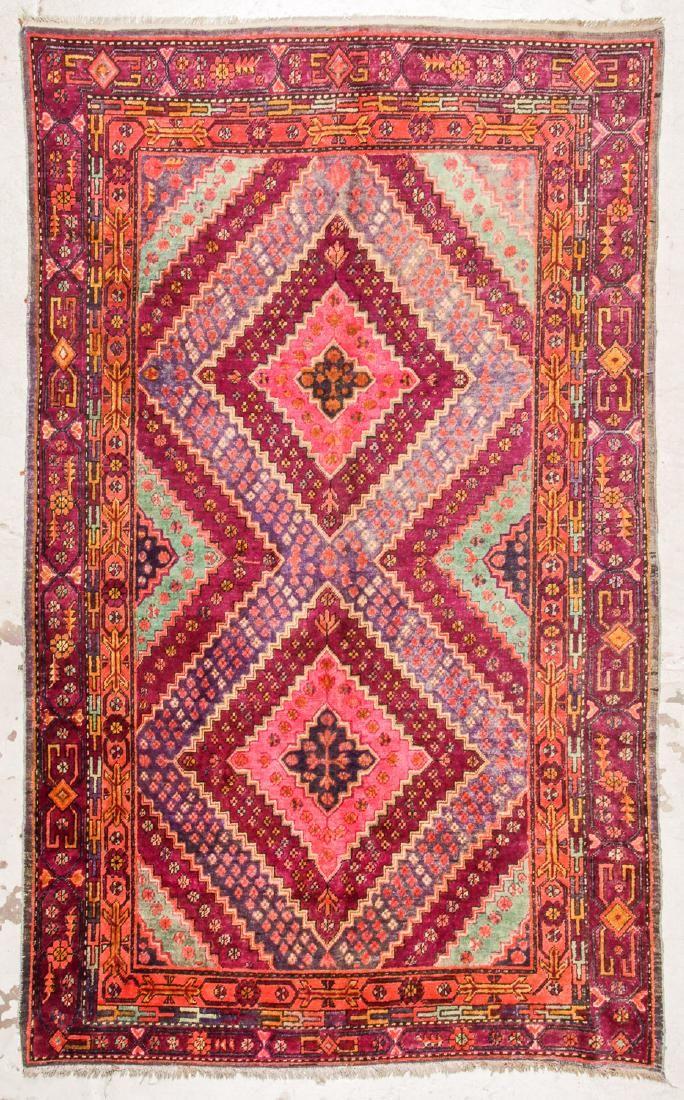 Antique Khotan Rug, China: 5'9'' x 9'4''