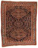 Antique Afshar Rug Persia 411 x 61
