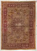 Antique Agra Rug India 411 x 611
