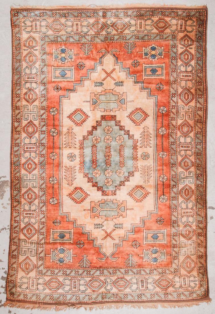 Vintage Turkish Rug: 7'9'' x 11'8''