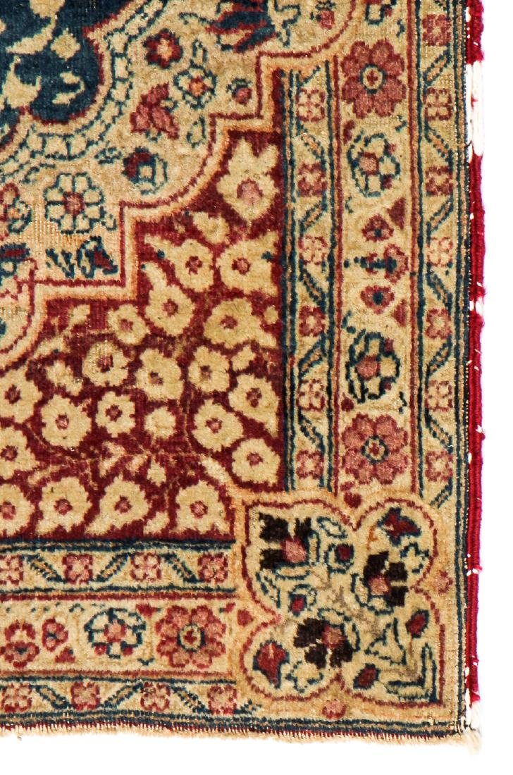 Antique Lavar Kerman Rug: 2' x 2'6'' - 3