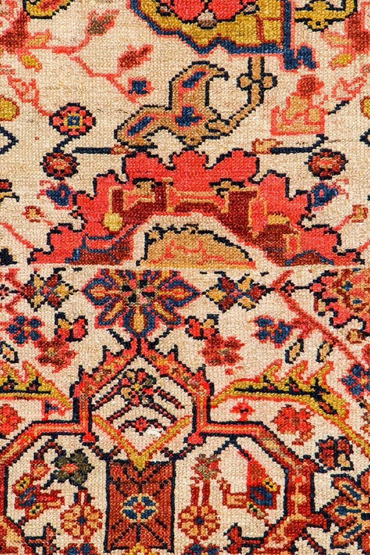 Antique Malayer Wagireh Rug, Persia: 3'8'' x 6'2'' - 2