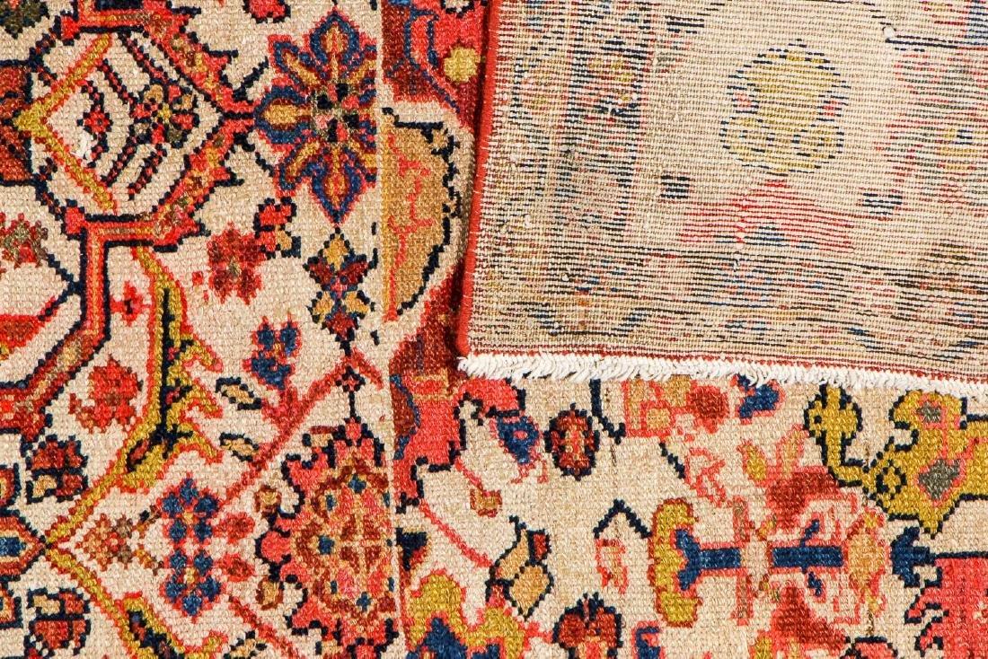 Antique Malayer Wagireh Rug, Persia: 3'8'' x 6'2'' - 4