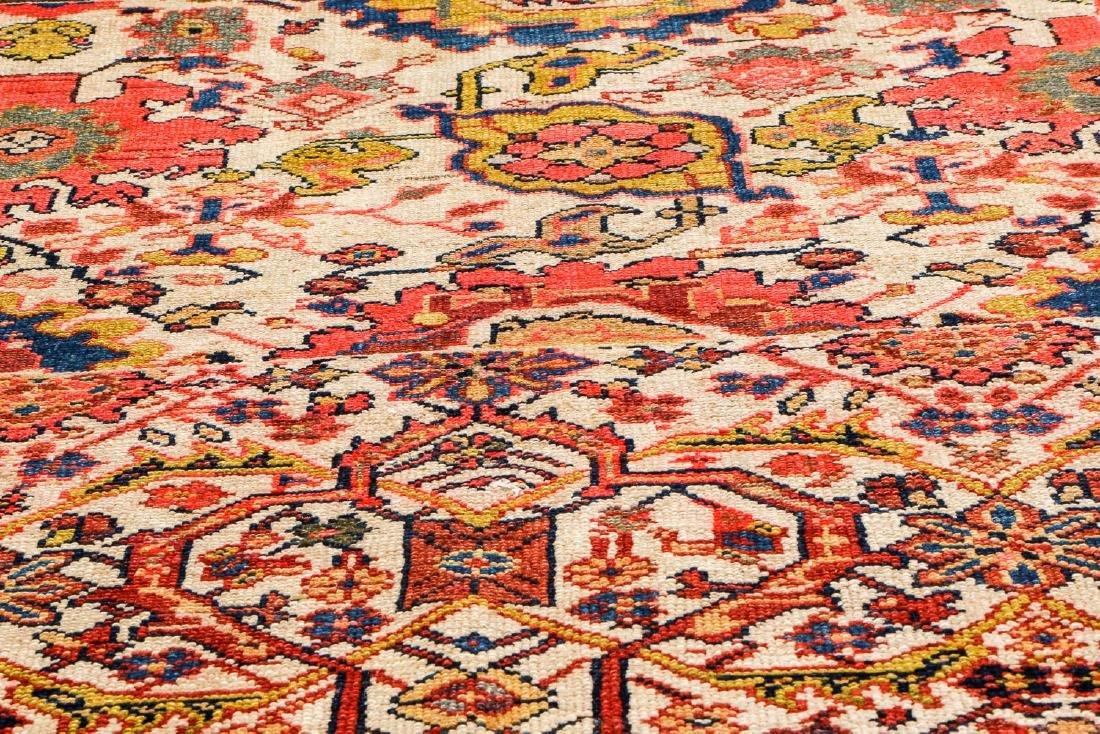Antique Malayer Wagireh Rug, Persia: 3'8'' x 6'2'' - 6