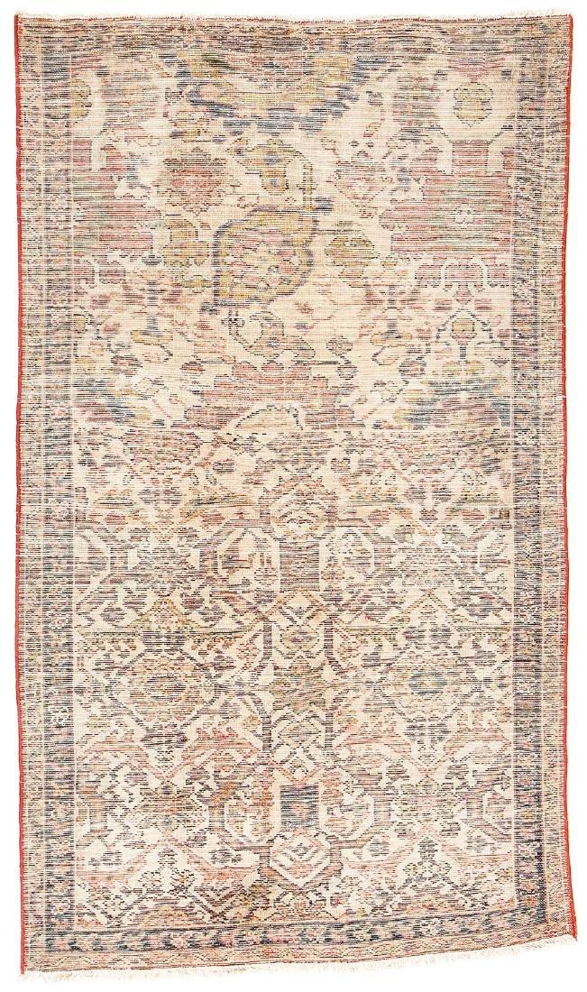 Antique Malayer Wagireh Rug, Persia: 3'8'' x 6'2'' - 7