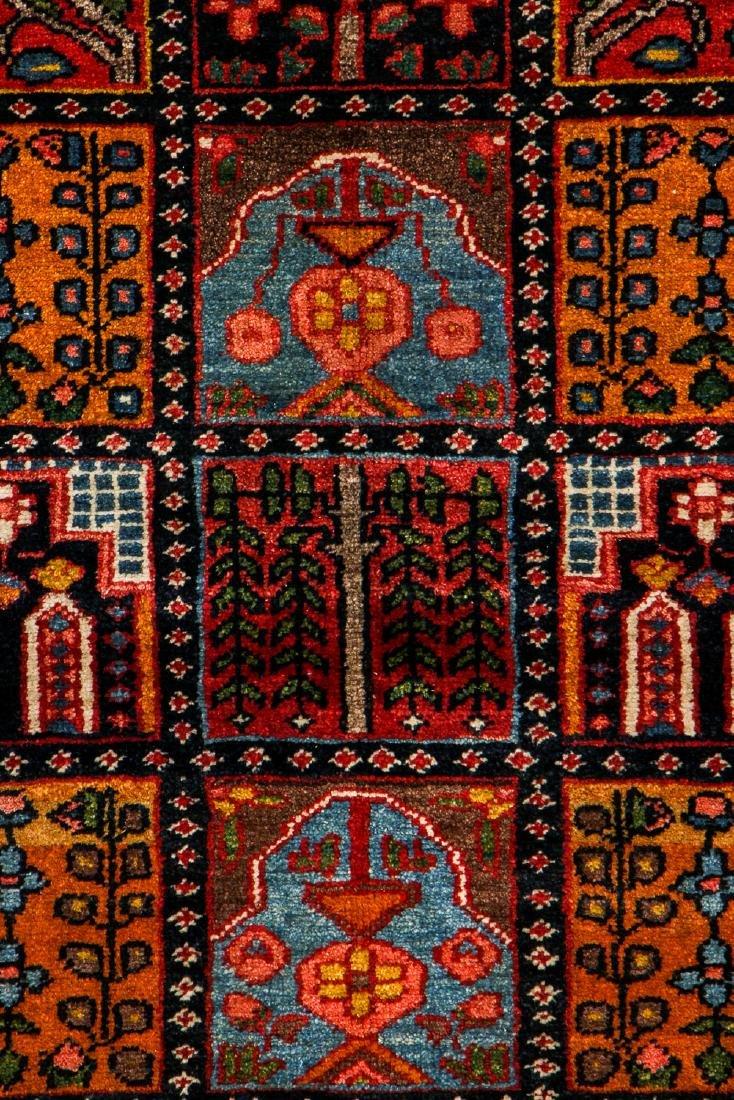 Fine Antique Bakhtiar Garden Rug, Persia: 5'1'' x 6'8 - 2