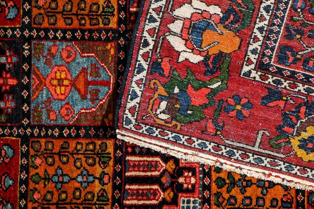 Fine Antique Bakhtiar Garden Rug, Persia: 5'1'' x 6'8 - 4