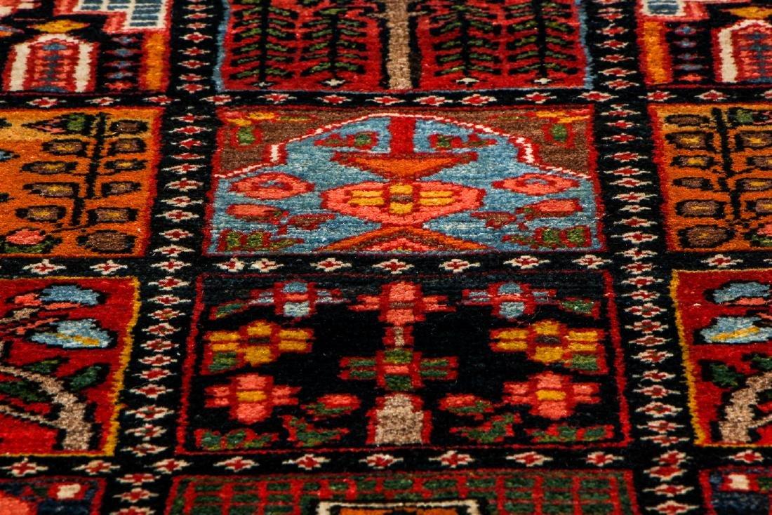 Fine Antique Bakhtiar Garden Rug, Persia: 5'1'' x 6'8 - 6