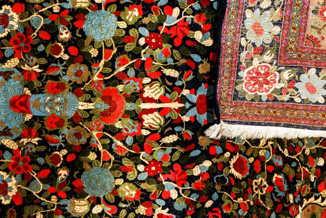 """Semi-Antique Sarouk Prayer Rug, Persia: 4'5"""" x 6'9"""" - 4"""