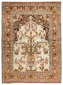 Antique Tabriz  Hadji Jalili  Prayer Rug Persia 47