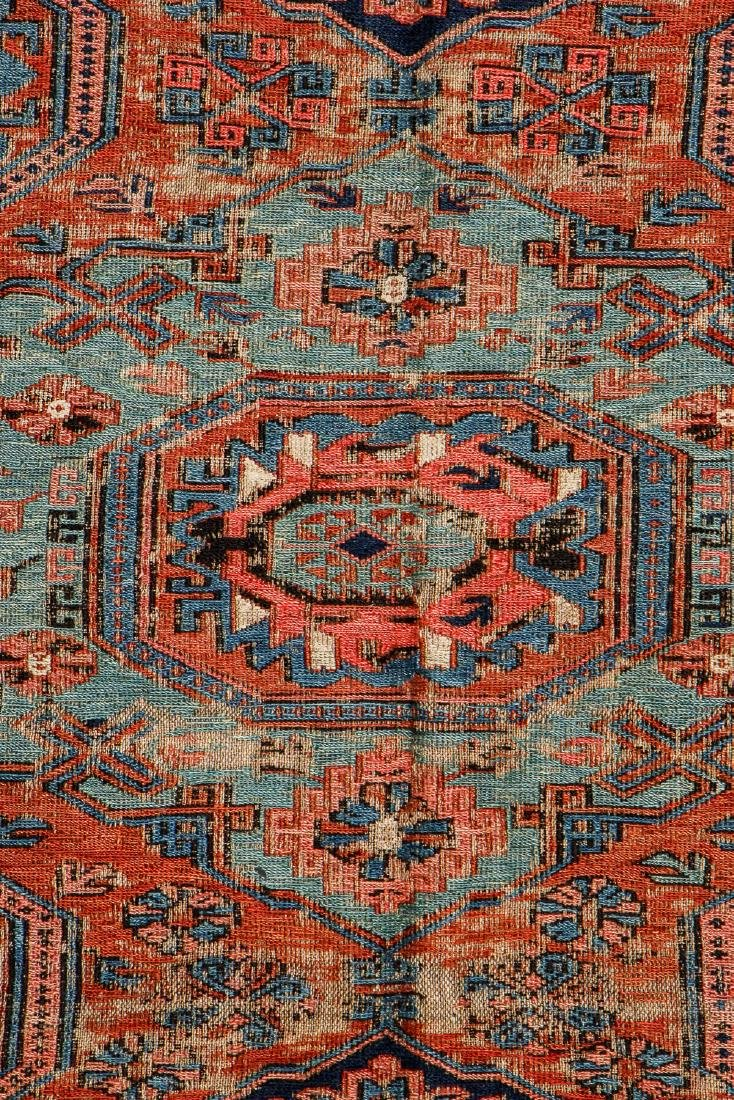 Antique Sumak Rug, Caucasus: 5'3'' x 6'7'' - 2