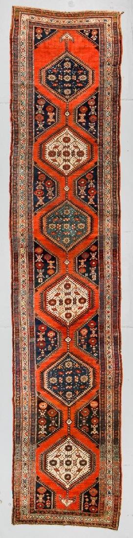 Antique Northwest Persian Rug: 4' x 17'11'' (122 x 546