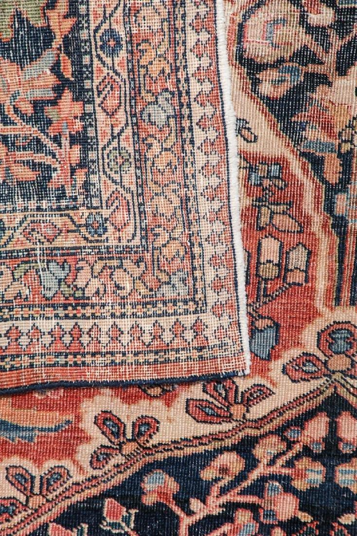 Antique Ferahan Sarouk Rug: 10'5'' x 13'2'' (318 x 401 - 3