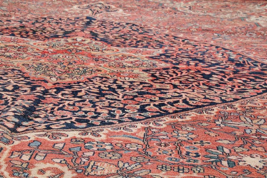 Antique Ferahan Sarouk Rug: 10'5'' x 13'2'' (318 x 401 - 5