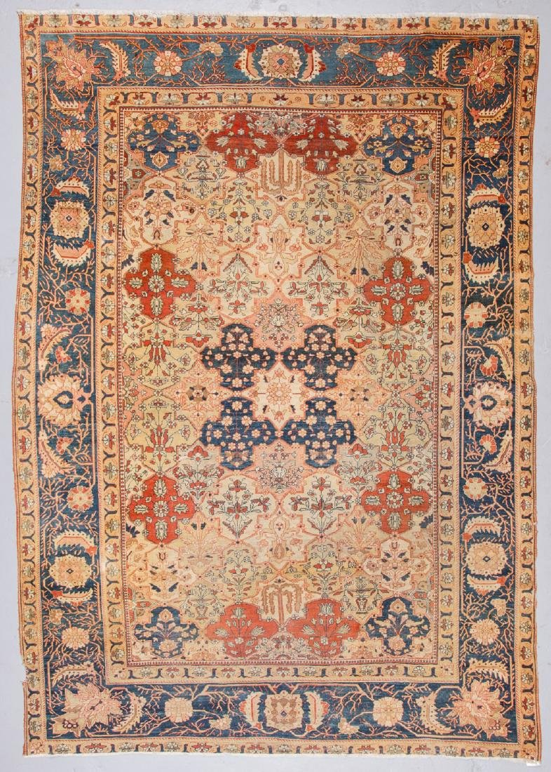 Antique Tabriz Rug, Persia: 7'2'' x 10'3''