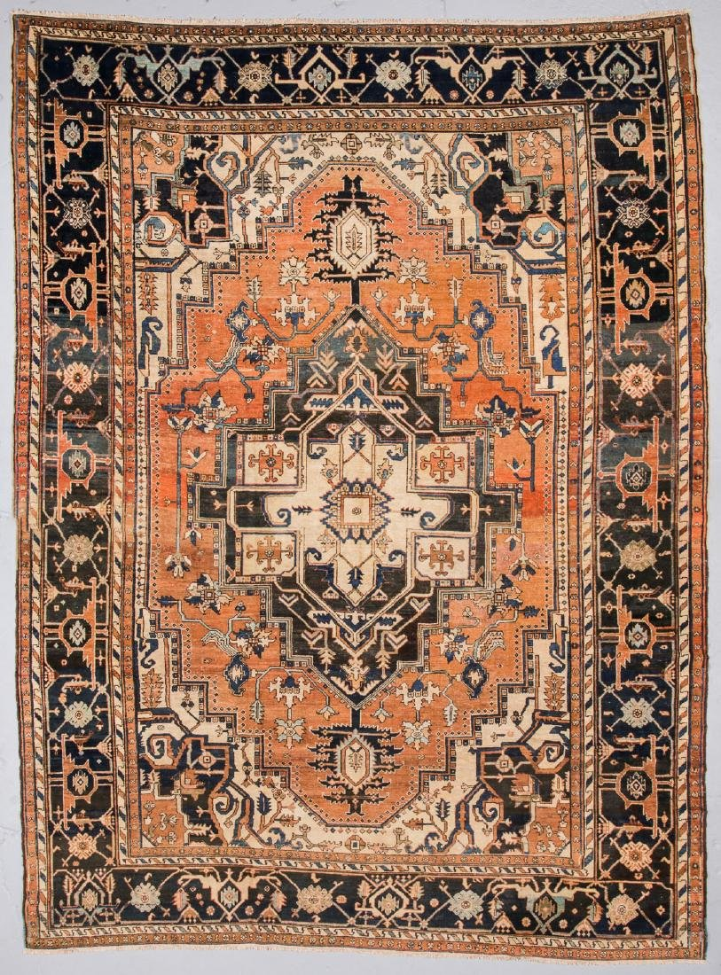 Antique Serapi Rug, Persia: 11'  x 14'10''