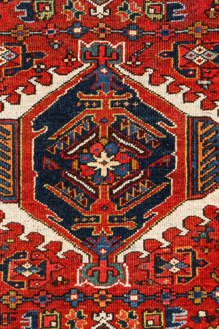 Antique Karadja Rug, Persia: 4'8'' x 6'7'' - 2