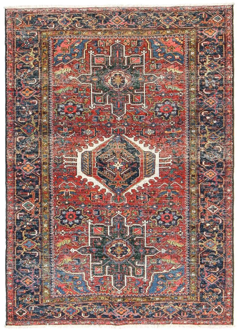 Antique Karadja Rug, Persia: 4'8'' x 6'7'' - 7