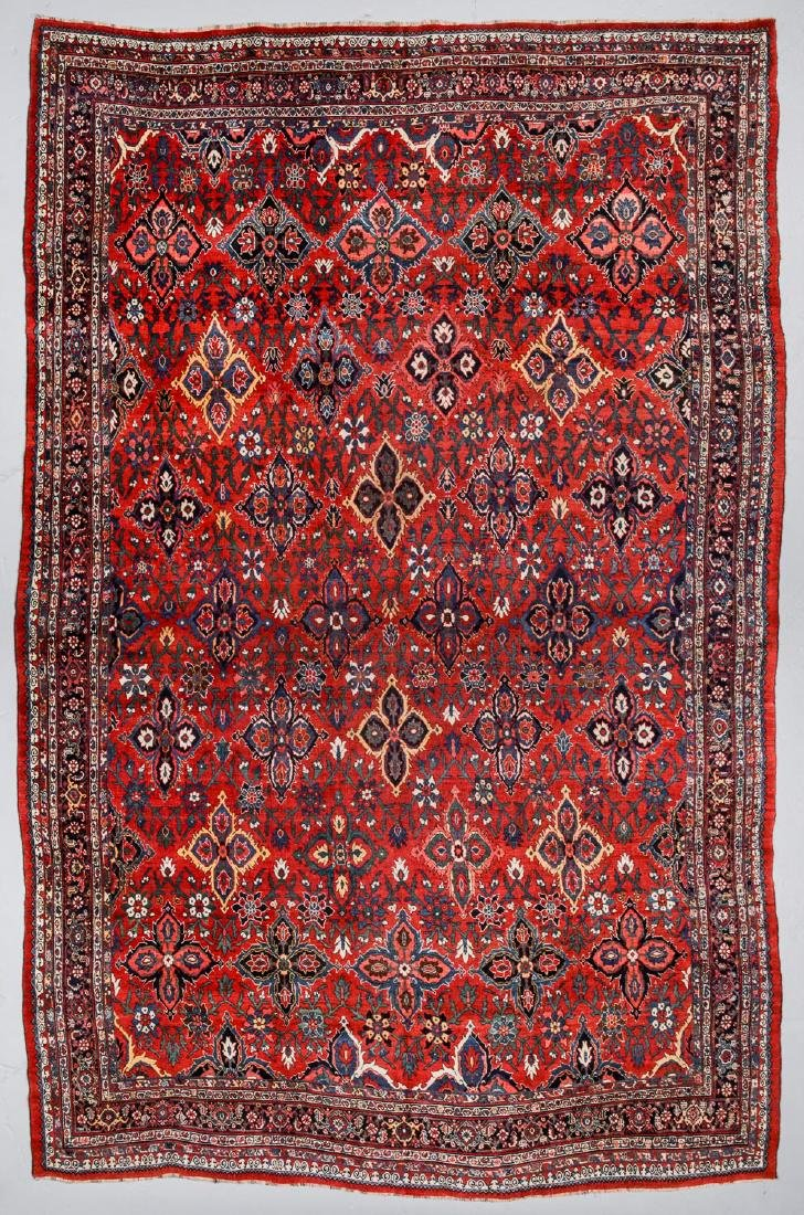 Antique Mansion Size Bidjar Rug, Persia: 11'4'' x